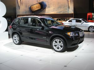 The newly redeisgned 2011 X3