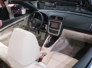 The sleek new interior