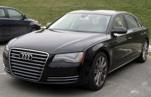 2011 Audi A8 Photo credit: IFCAR, Wikimedia Commons