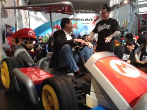 Super Mario Kart Press Event