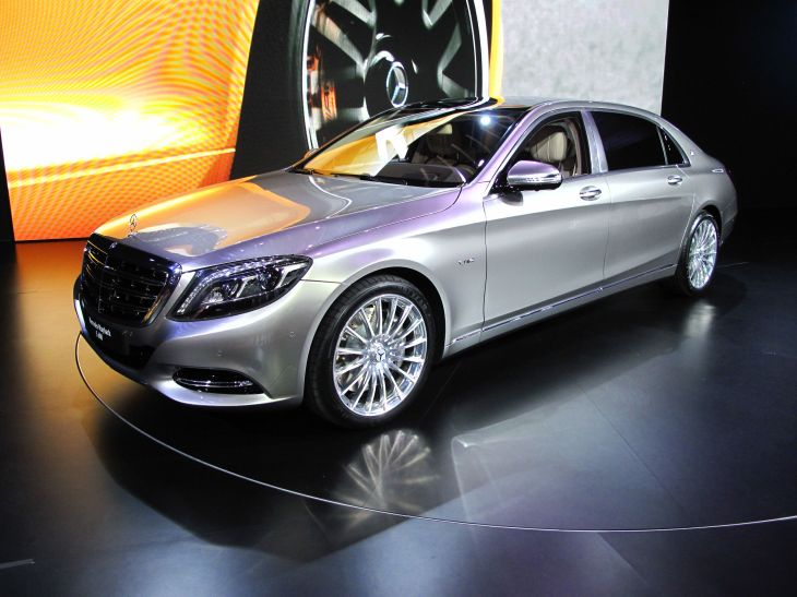 The all-new Mercedes Maybach
