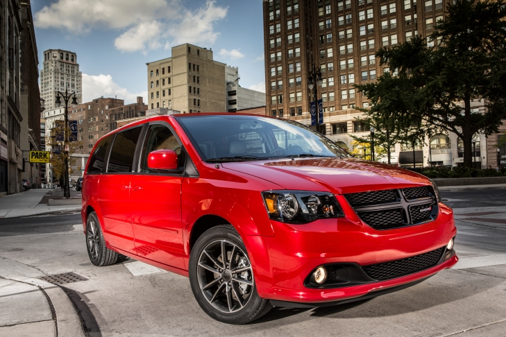 2015 Dodge Grand Caravan.  Photo Credit Chrysler Media