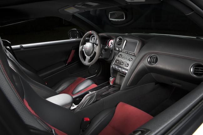 Nissan GT-R NISMO Interior Photo credit: Nissan