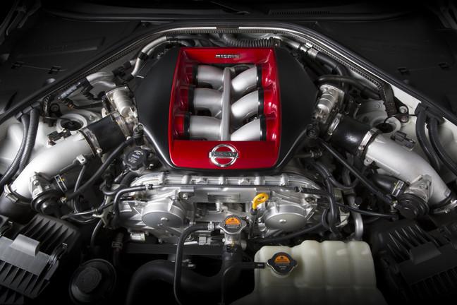 Nissan GT-R NISMO Engine Photo credit: Nissan