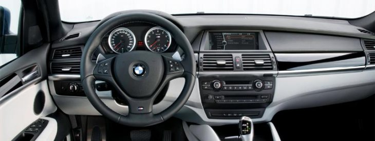 X5 M Interior.  Photo credit BMW.com