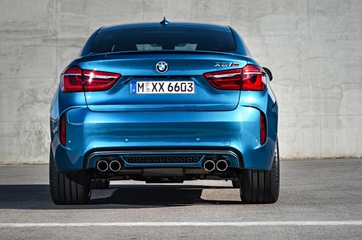 X6 M. Photo credit BMW