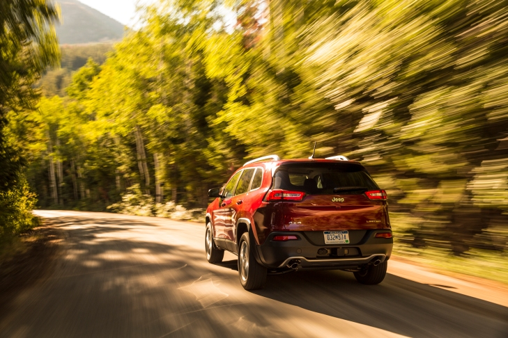 2015 Jeep Cherokee Photo Credit: Chrysler Group Media