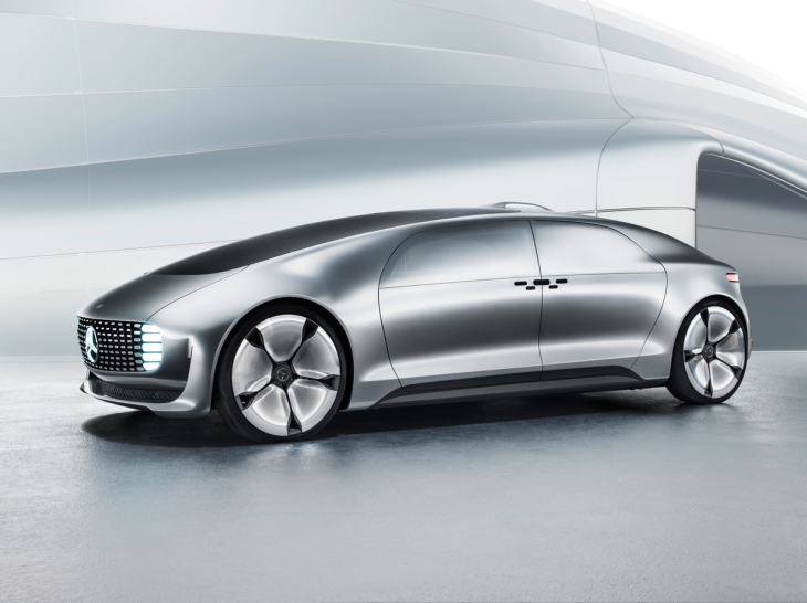 Mercedes-Benz F 015 Luxury in Motion Concept Car Photo Credit: Mercedes-Benz