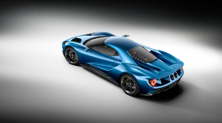 Ford GT Supercar Photo credit: Ford Motor Company