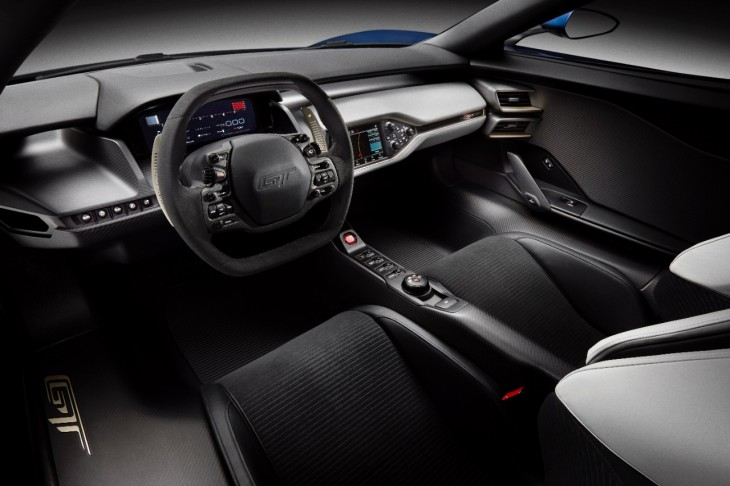 Ford GT Supercar Interior Photo credit: Ford Motor Company