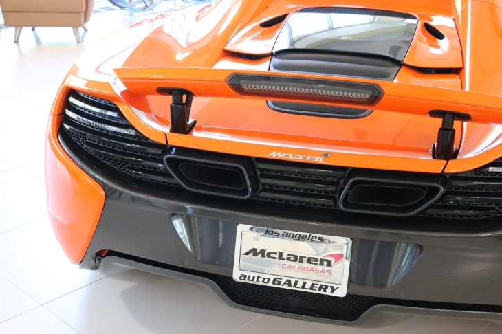 The McLaren 650s ©automobheels.com