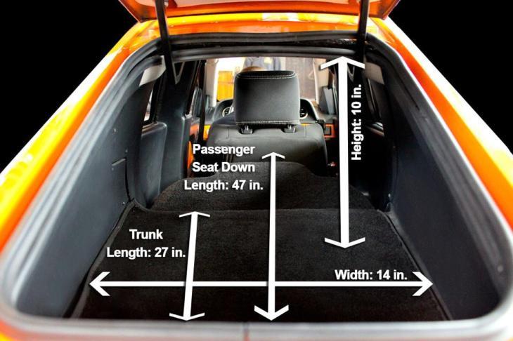 Elio Trunk Space Photo Credit: Elio Motors