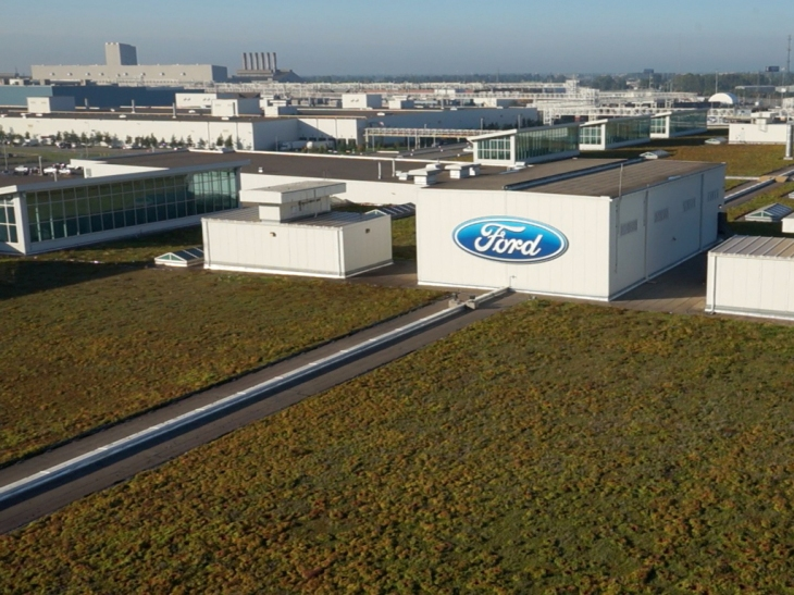 The Living Roof Hero Shot Photo Credit: Ford Motor Company
