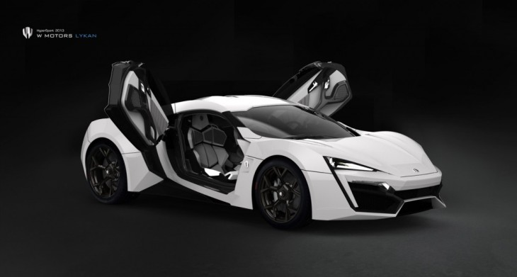 $3.4 million Lykan HyperSport Photo Credit: W Motors