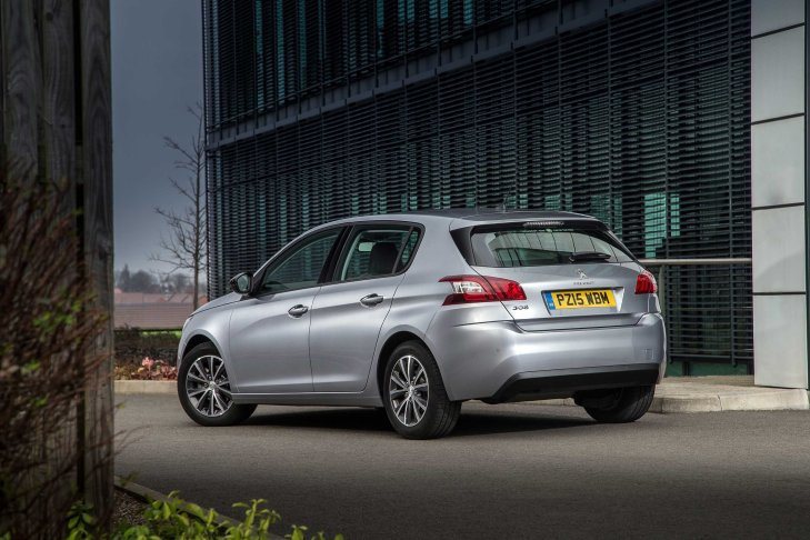 2015 Peugeot 308  Photo Courtesy of Peugeotpress.co.uk