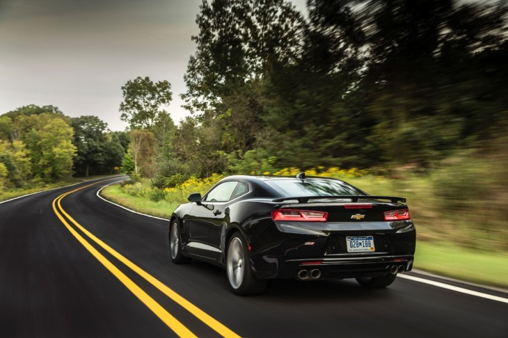 The 2016 Camaro SS © General Motors