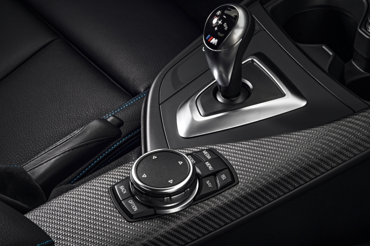 M Embossed Gear Shift Photo Courtesy BMW GROUP ©BMW GROUP