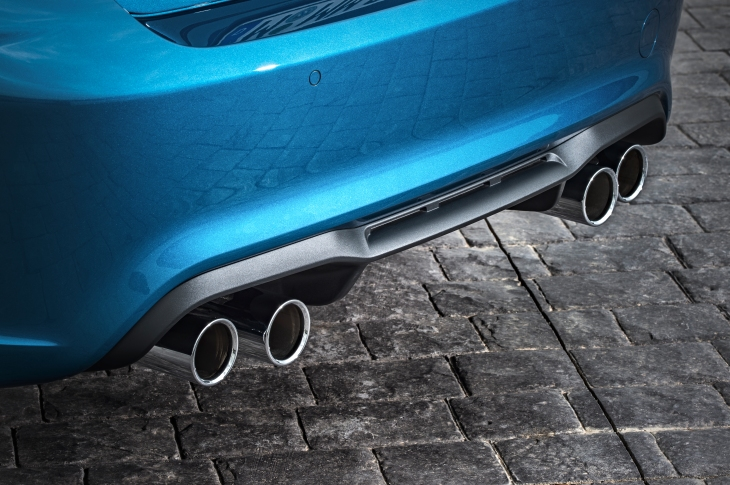 M2 Twin Tailpipe Photo Courtesy of BMW GROUP ©BMW GROUP
