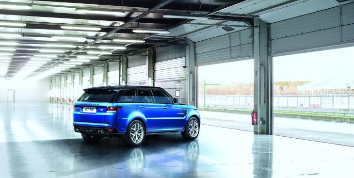 Range Rover SVR 7