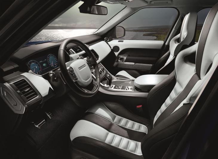 Range Rover SVR Interior